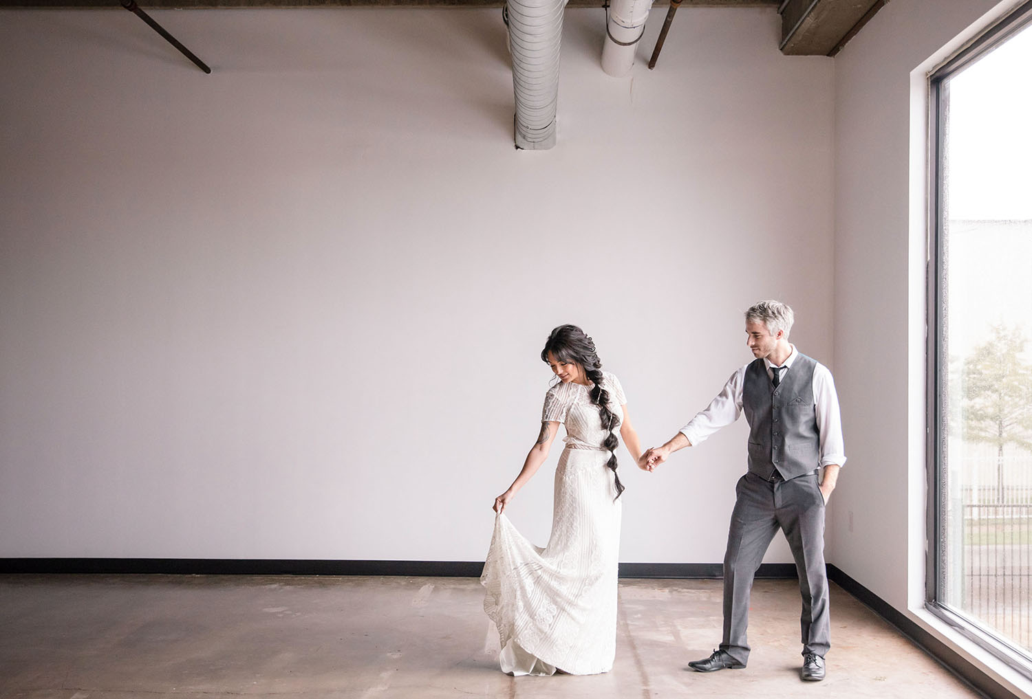 Industrial Loft Wedding Vibes