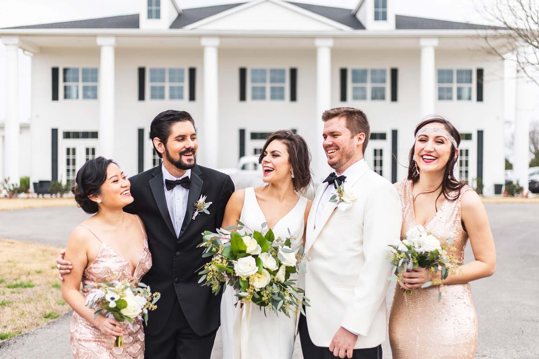 Great Gatsby Wedding by Monika Normand Photography
